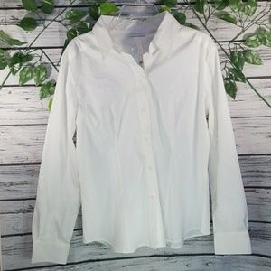NWT New York & Company button down long sleeve XL
